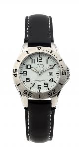 e1ac89d188d Černé chlapecké vodoodolné dětské náramkové hodinky JVD J7177.2