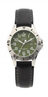 6a4ab374142 Černé chlapecké vodoodolné dětské náramkové hodinky JVD J7177.5