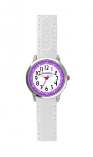 afc7ec1ad7d Bílé dívčí dětské hodinky CLOCKODILE COLOUR CWG5012