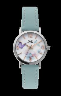 6acb03f1300 Dětské dívčí přehledné náramkové hodinky JVD J7184.8