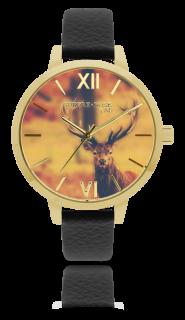 732708a8ef4 Dámské luxusní designové hodinky SUNDAY ROSE Alive DEER MAJESTY SUN-A02