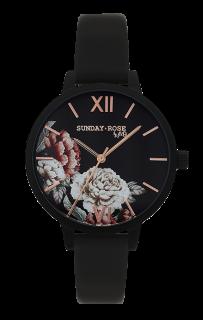 a420c467bcc Dámské luxusní designové hodinky SUNDAY ROSE Alive Peony Dream SUN-S05