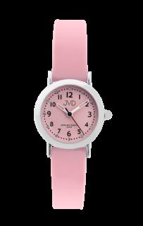 cb682ad4f12 Dívčí dětské náramkové hodinky JVD J7189.2 se zirkony na číselníku