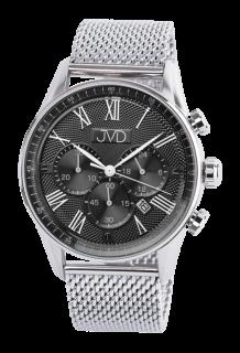 8e55cd7cd1d Pánské náramkové hodinky JVD JE1001.3 s římskými číslicemi - chronograf  10ATM