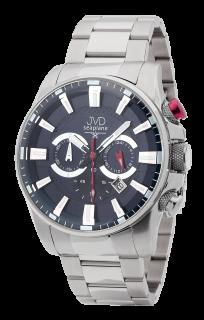 Pánské vodotěsné náramkové hodinky JVD JE1004.3 - chronograf 10ATM b7b1fe69de