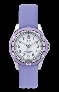 Fialkové odolné dětské chlapecké vodotěsné hodinky JVD J7185.1 - 10ATM 8c6c3328612