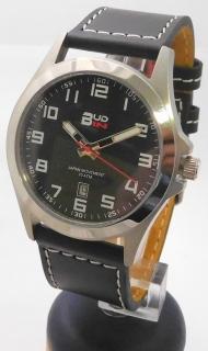 Pánské levné ocelové vodotěsné hodinky BUD-IN steel B1701.5 - 10ATM 80582b799f