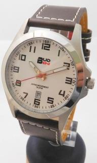 88353142045 Pánské levné ocelové vodotěsné hodinky BUD-IN steel B1701.4 - 10ATM